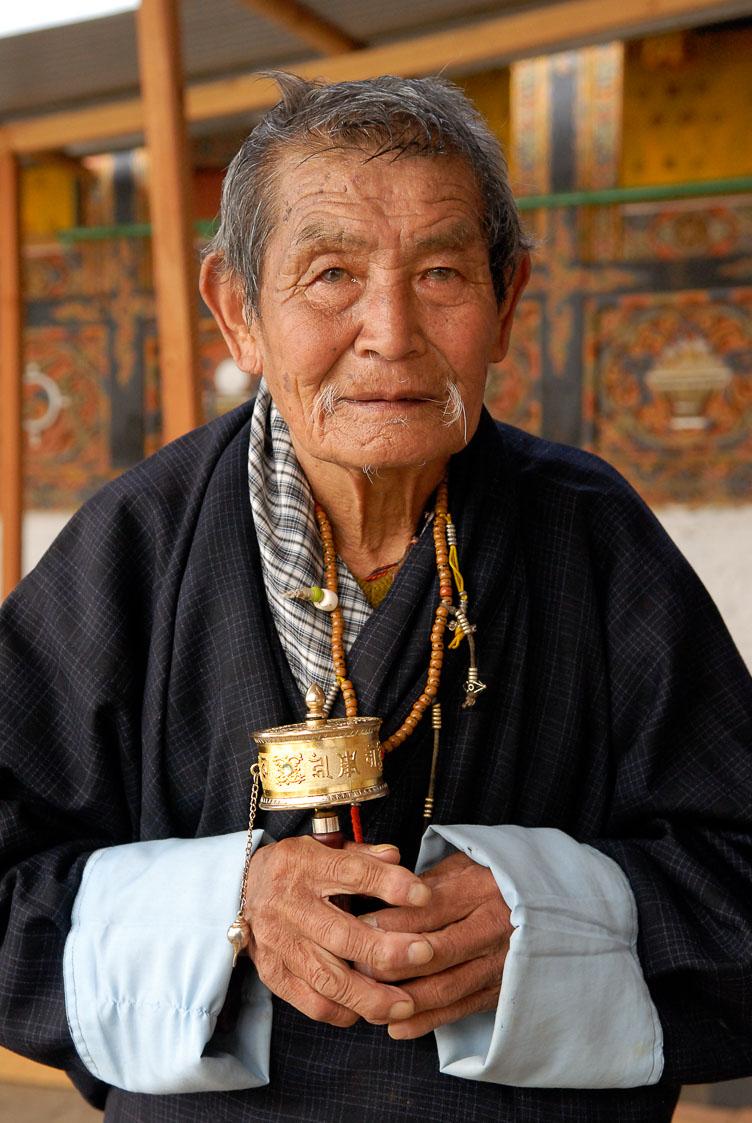 SB06319-Worshipper-at-Tango-Monastery-near-Thimpu.jpg