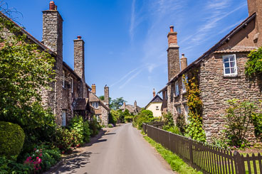 GB150360-Bossington-village-street-view.jpg