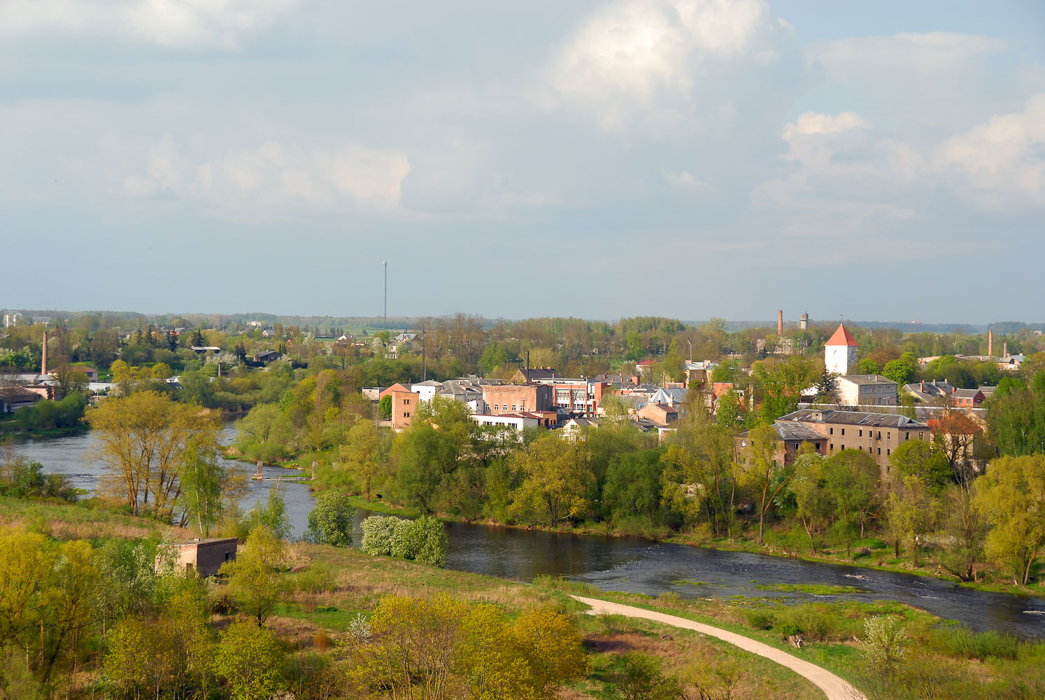 LE080391-Bauska---cityview-from-the-old-castle.jpg