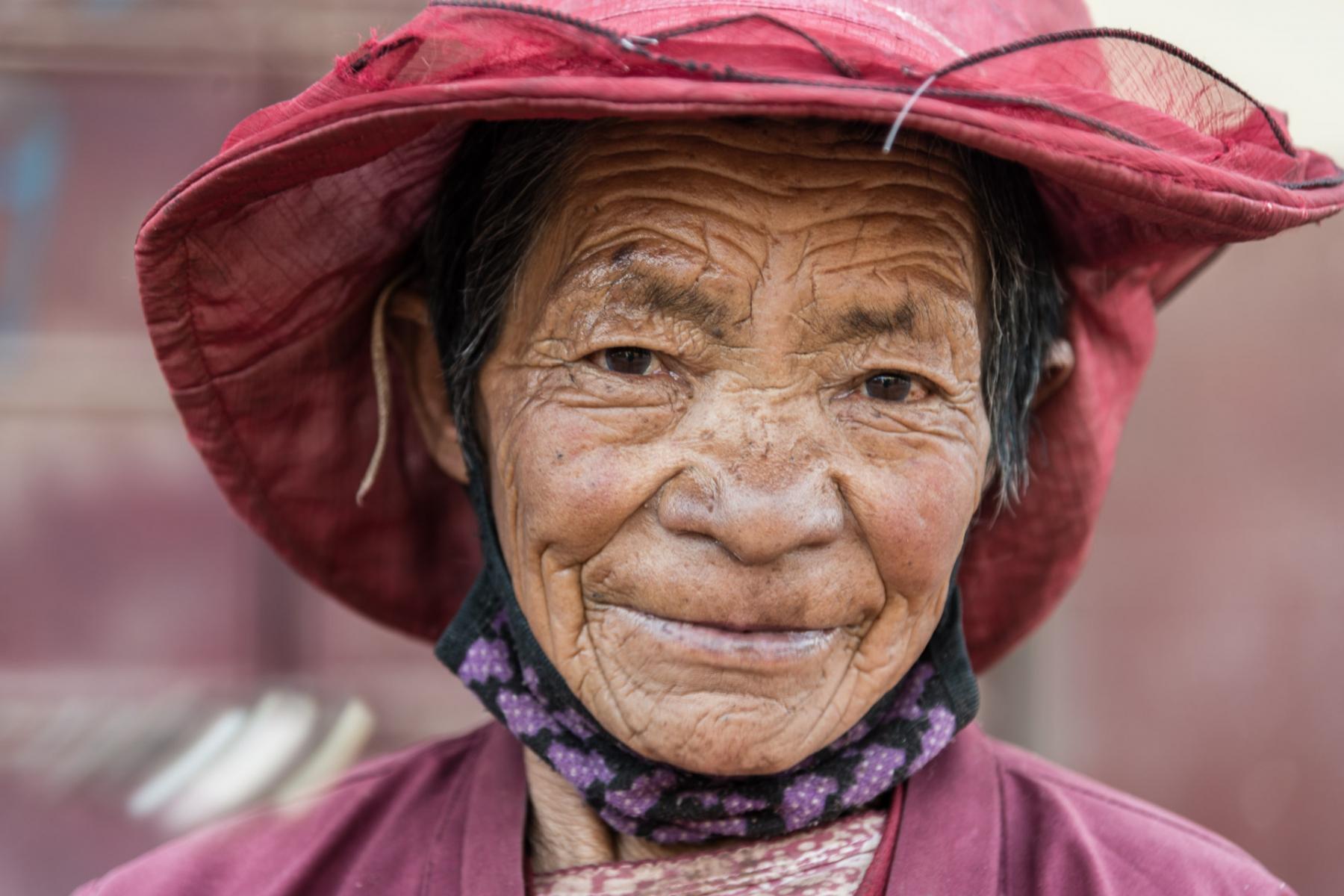 Nancheng Tibetan woman