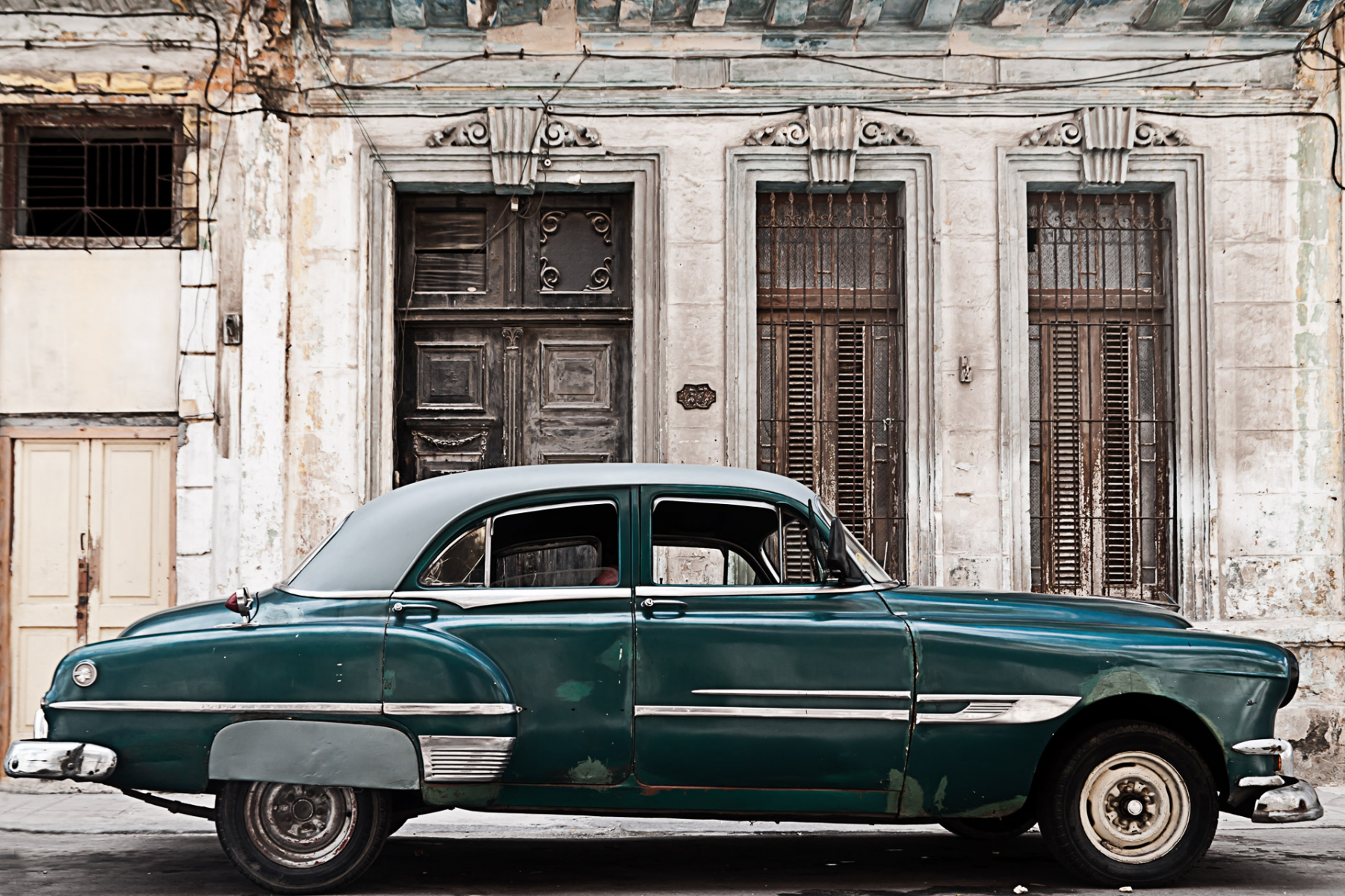 The beauty of decay in Centro Habana