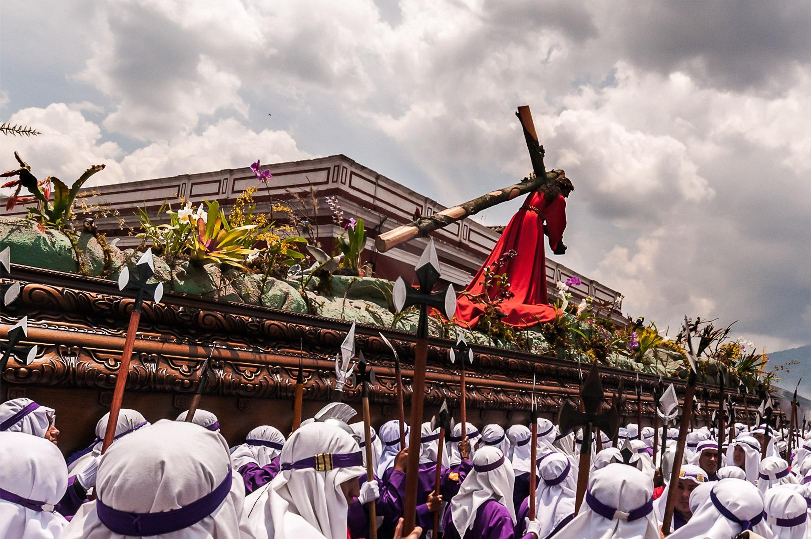 Procession Iglesia La Merced