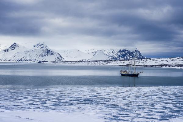 Onderweg naar Spitsbergen